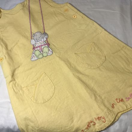 18-24 Month Yellow Pinafore Dress